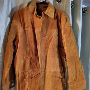 Mes leather suede jacket